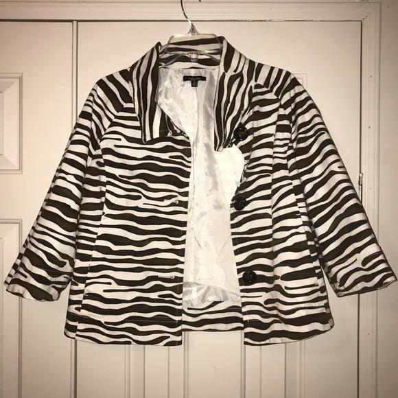 Rafaella Jackets & Blazers - Rafaella Jacket Size L.